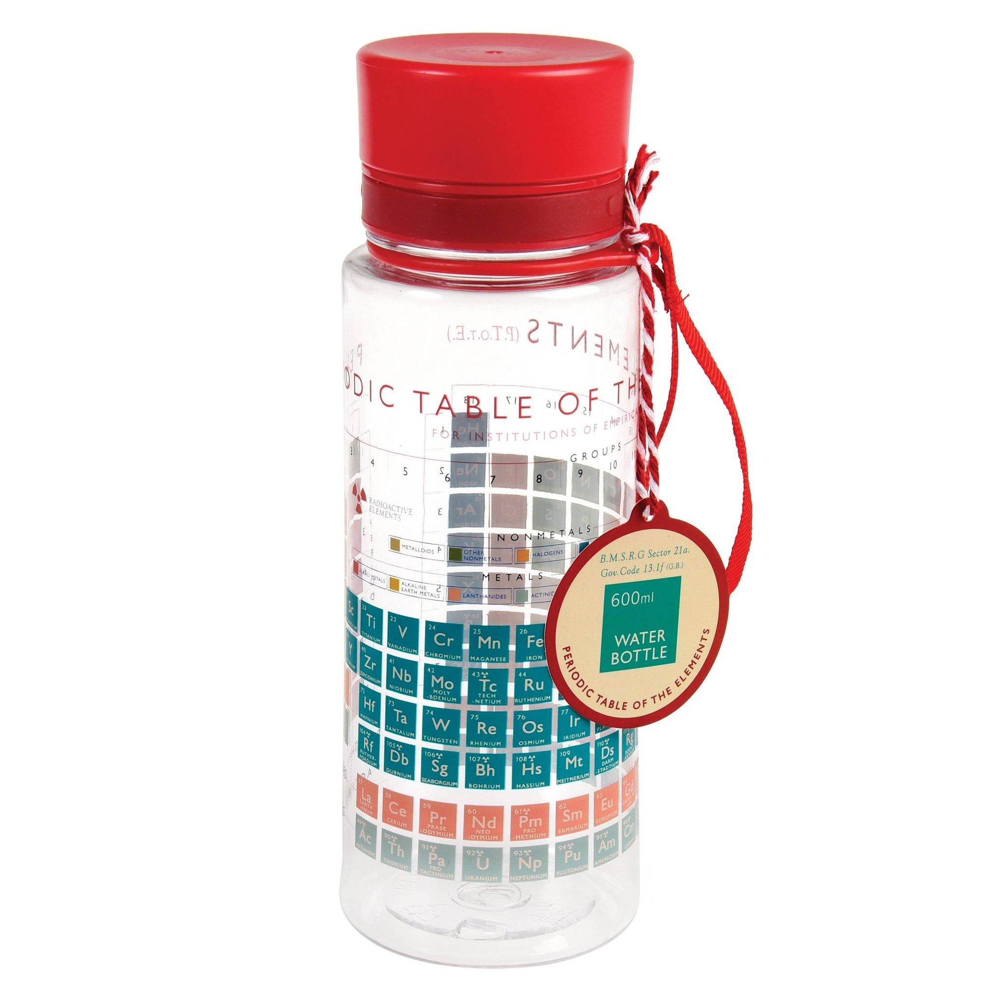 Periodic Table Water Bottle