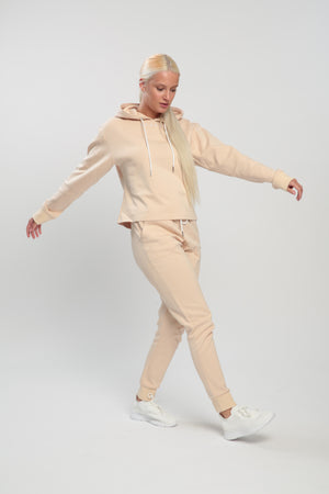 Light Beige Balance Joggers