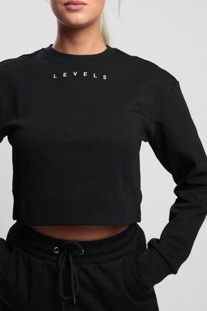 Black Balance Sweatshirt