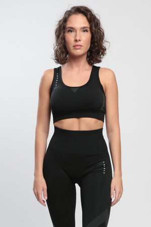 Black Effect Sports Bra