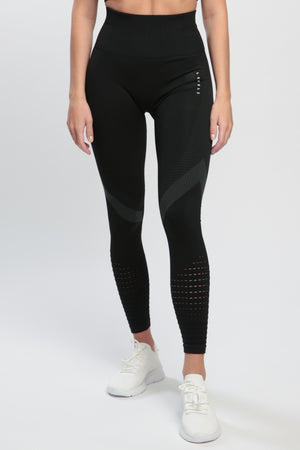 Black Effect High Waisted Leggings