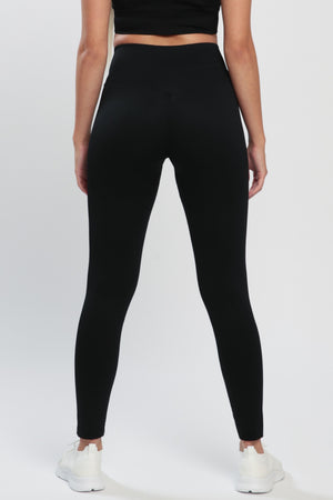 Black Lounge High Waisted Leggings