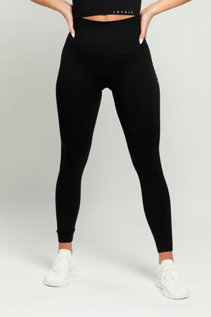 Black Flex High Waisted Leggings