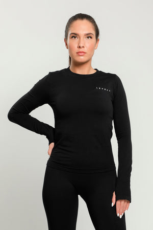 Black Flex Long Sleeve
