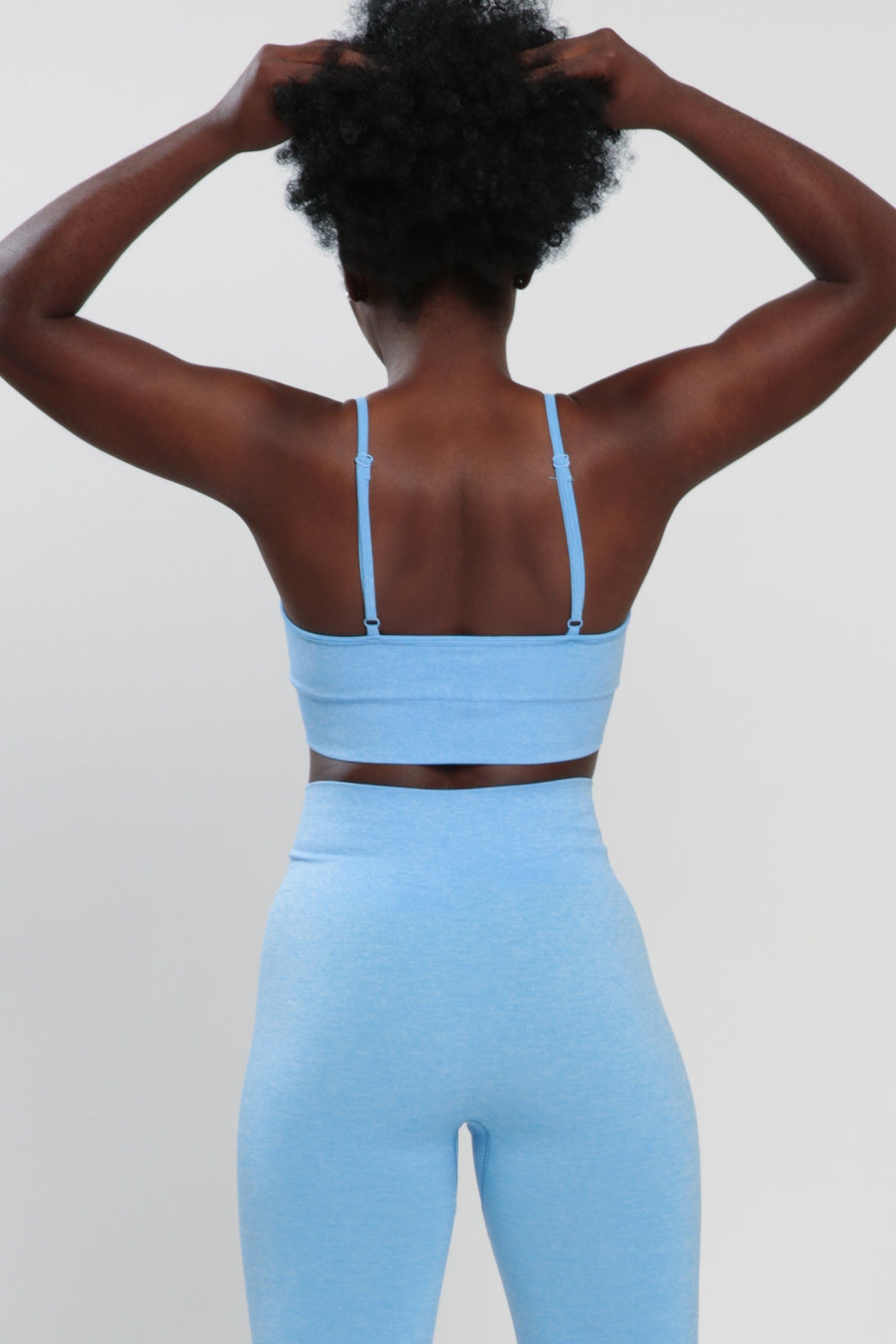 Blue Blessed Sports Bra