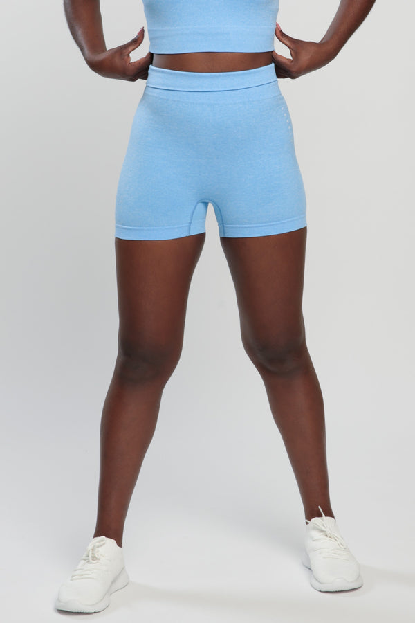 Blue Blessed Shorts