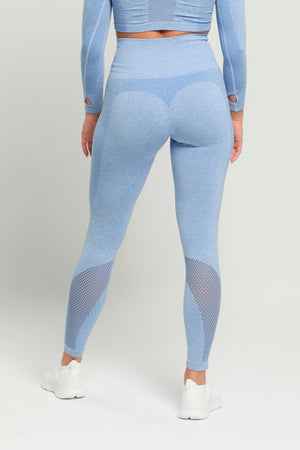 Blue Pure High Waisted Leggings