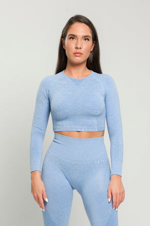 Blue Pure Long Sleeve