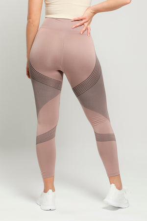 Bronze Reflex High Waisted Leggings