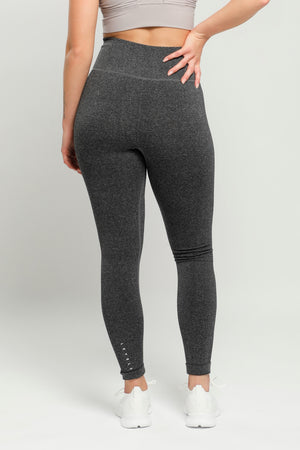 Dark Gray Energy High Waisted Leggings