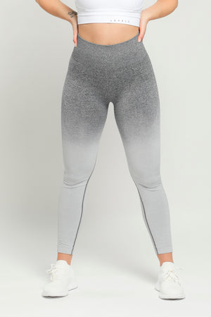 Gray Flex High Waisted Leggings