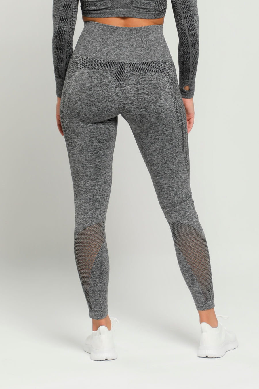 Gray Pure High Waisted Leggings