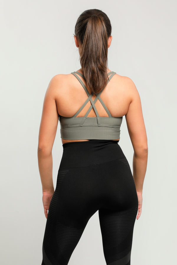 Green Energy Sports Bra
