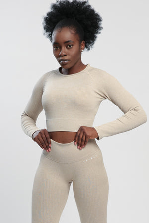 Khaki Lounge Long Sleeve