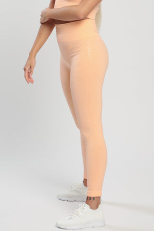 Light Rose Blessed High Waisted Leggings