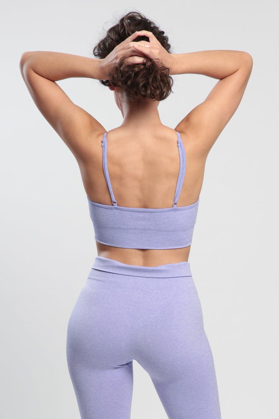 Light Violet Blessed Sports Bra