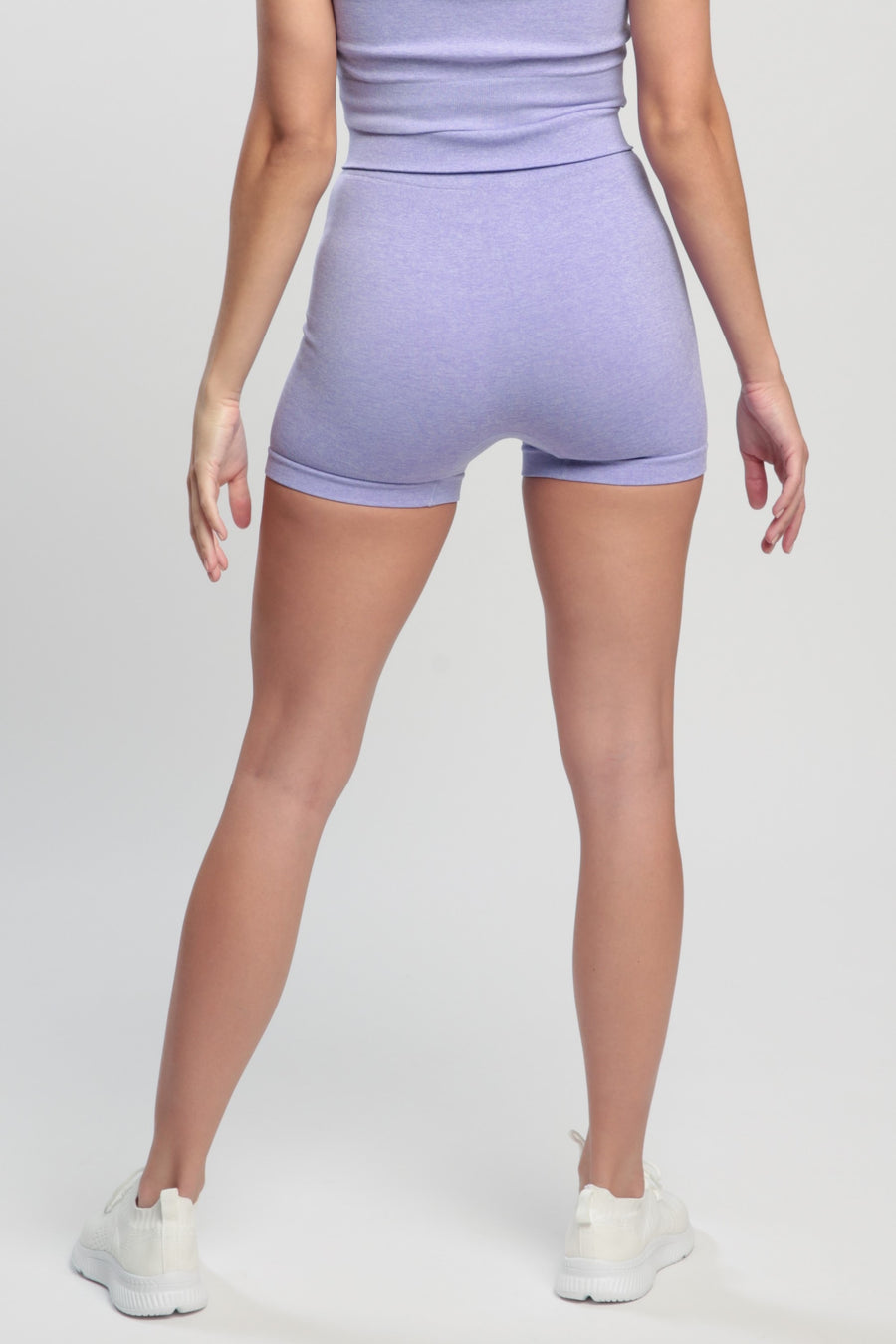 Light Violet Blessed Shorts