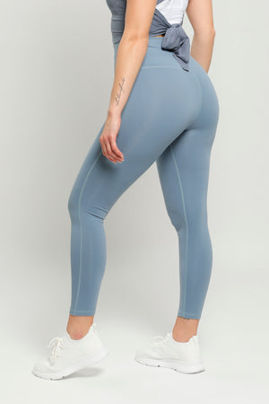 Light Blue Flow High Waisted Leggings