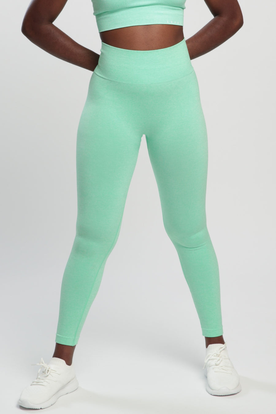 Mint Green Blessed High Waisted Leggings