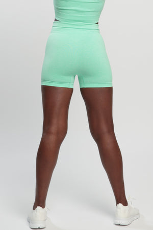 Mint Green Blessed Shorts