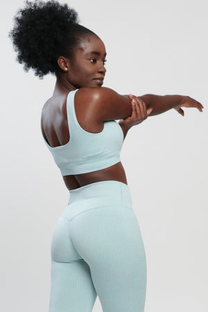 Mint Lounge Sports Bra
