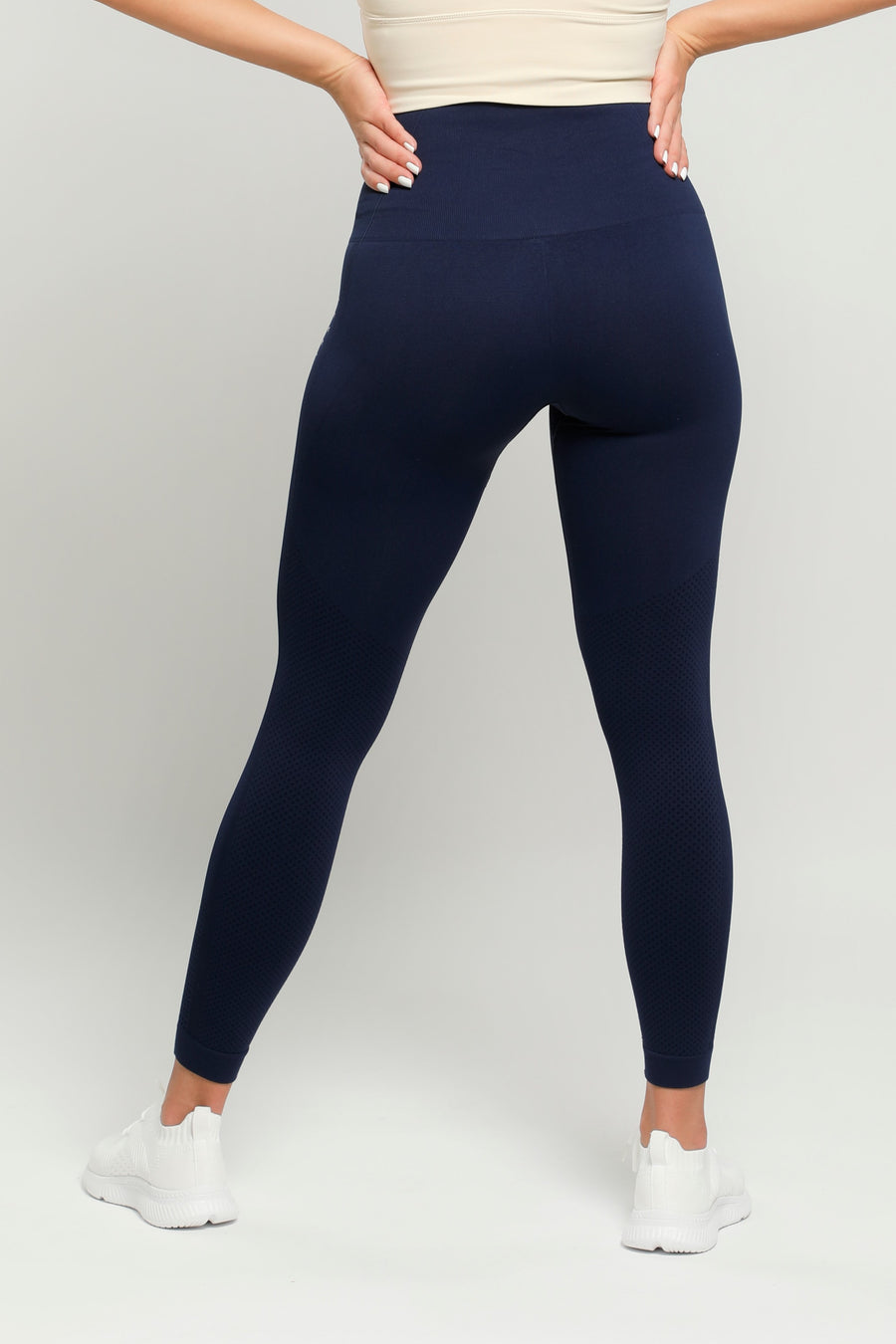 Navy Flex High Waisted Leggings