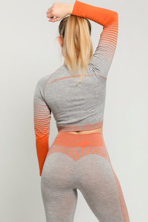 Orange Limitless Long Sleeve