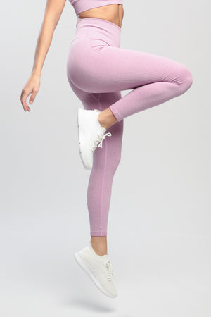 Purple Lounge High Waisted Leggings