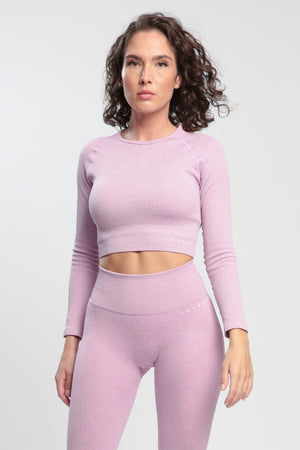 Purple Lounge Long Sleeve