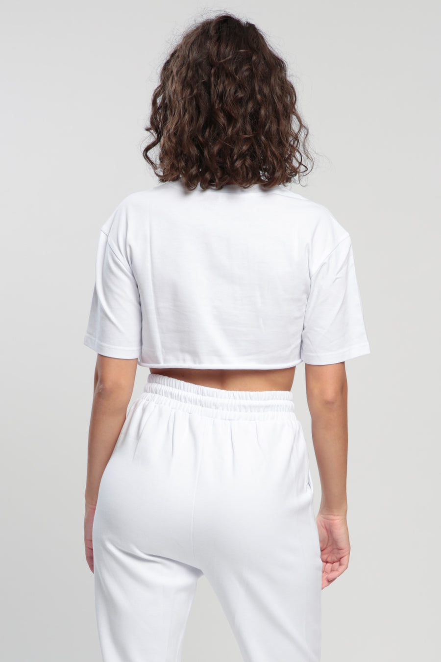 White Balance Cropped Shirt