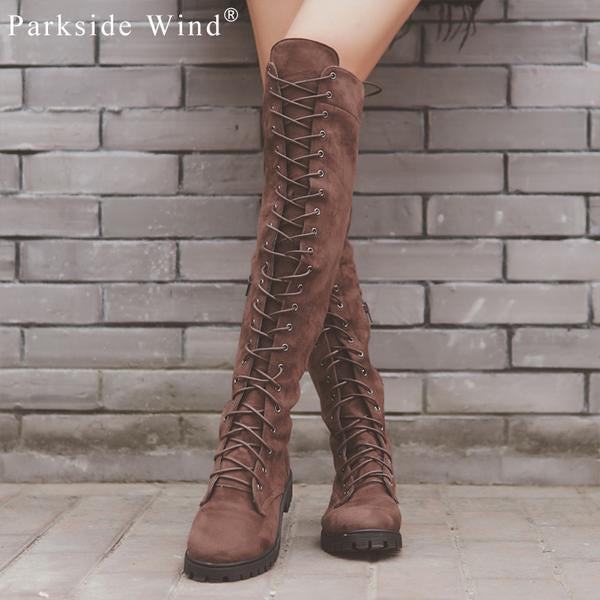 Shoes - Sexy Fashion Winter Women's Over Knee Boots(Buy 2 Got 5% off, 3 Got 10% off)