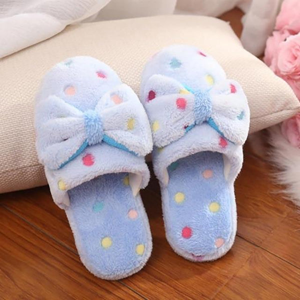 Women's Shoes - Soft Warm Cotton Slippers