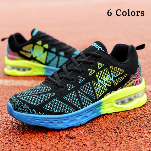 High Quality Colorful Air Cushioning Sneakers(Extra Discount:Buy 2 Get 5% OFF, 3 Get 10% OFF)