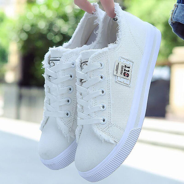 2019 Spring Cute Breathable Comfortable Canvas Shoes(Buy 2 Got 5% off, 3 Got 10% off Now)