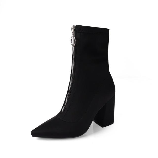 Fashion Ankle Elastic Sock Boots