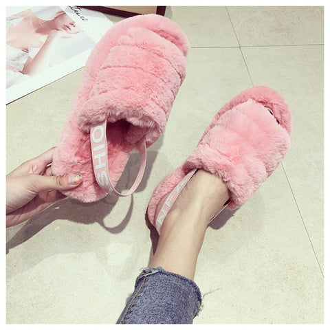 Slipper - New Arrival Women's Furry Slippers