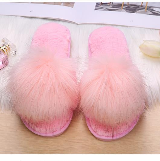 Shoes - Fashion Home Anti slip Thick Bottom Cotton Slippers
