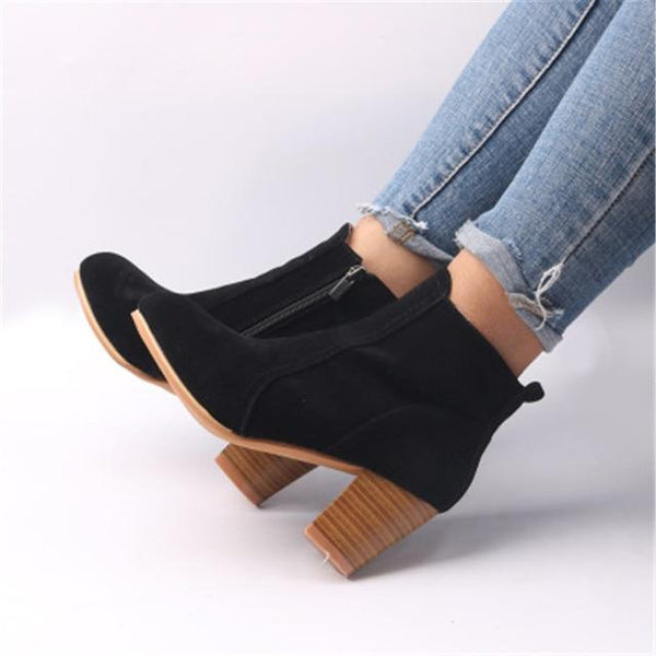 Shoes - 2018 Spring Autumn Ankle Women Boots