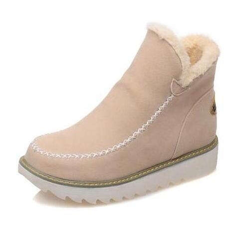 Women's Boots - Winter Warm Plush Woman Snow Boots
