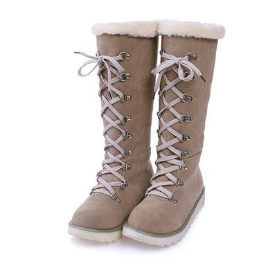 Women's Shoes - Fashion Knee High Snow Boots
