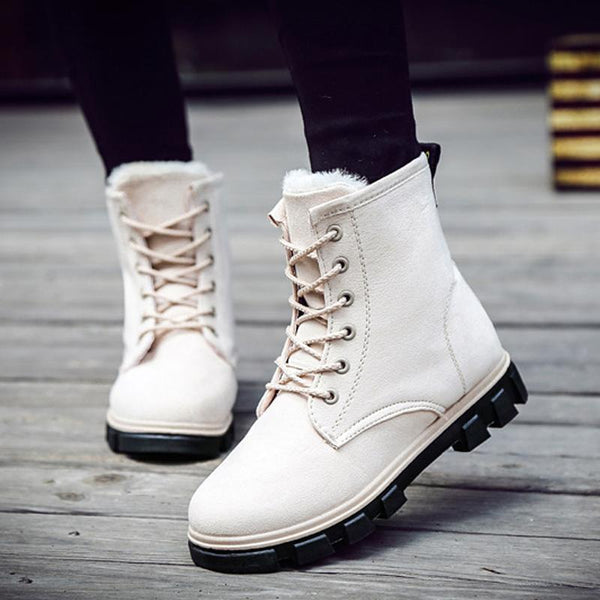 Plus Size Ankle Snow Women Winter Boots