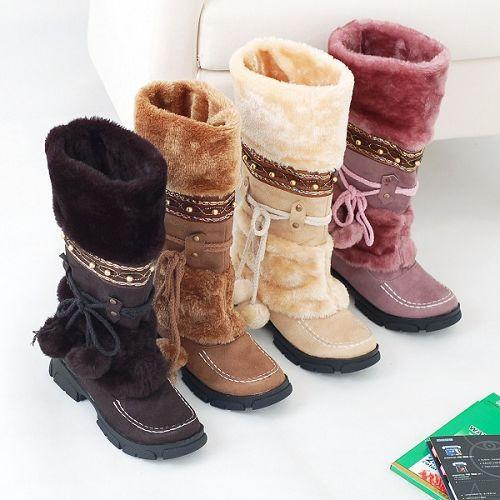 New Winter Warm Fashion Sexy Long snow boots