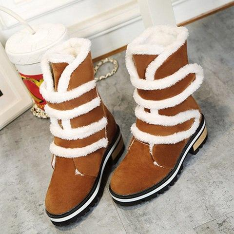Women's Shoes - Plus Size Fashion Cotton Snow Boots