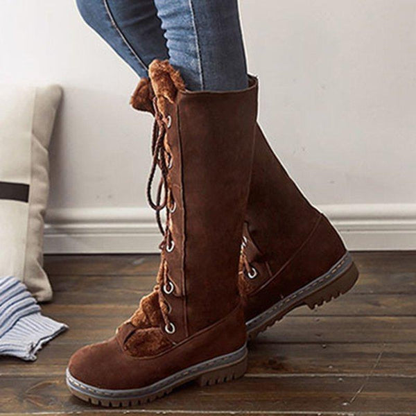 Boot - Winter Fashion Mid Calf Boots