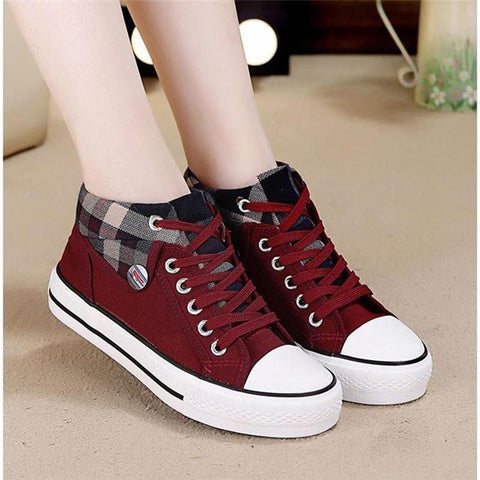 Women New Flats lace up Shoes Light Sneakers
