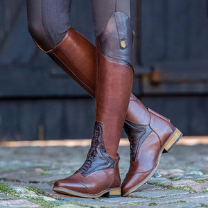 Women's Shoes - New Fashion Leather Riding Boots