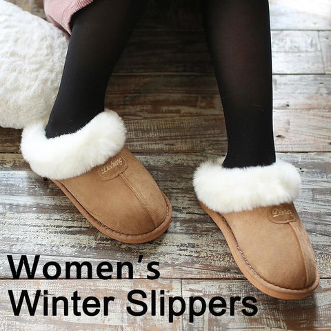 Women's Shoes - Comfortable Non-slip Warm Home Shoes