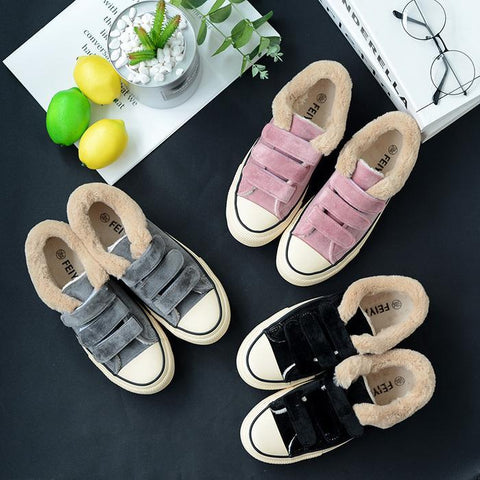 Women Snow Sneakers Casual Shoes