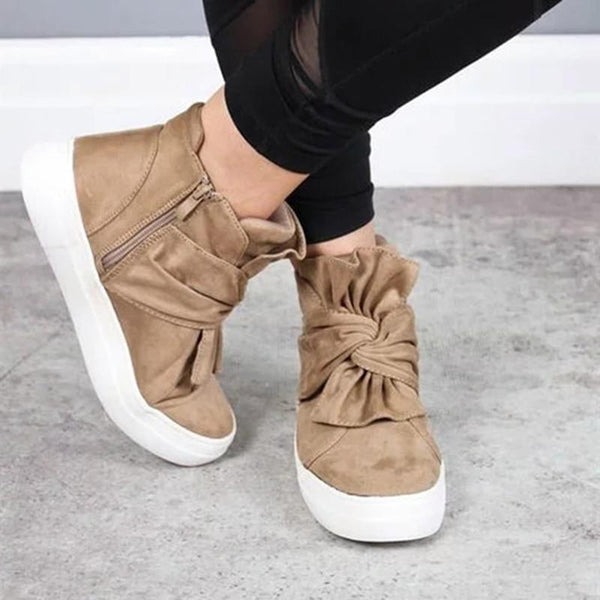 Women's Shoes - Fashion Slip On Bowknot Shoes