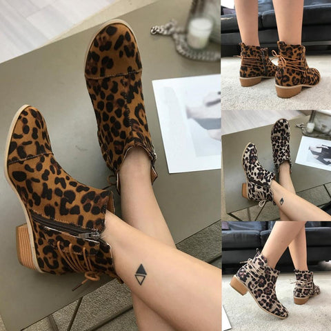 2019 Women Ankle Short Booties